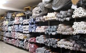 کشف ۱۰۰هزار طاقه پارچه قاچاق در تهران