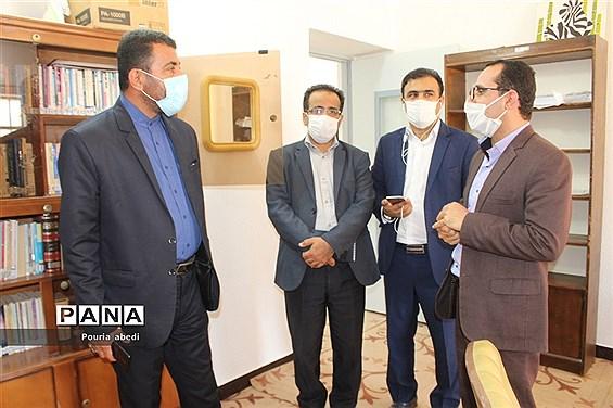 بازدید معاون پرورشی و فرهنگی ادارهکل آموزش و پرورش استان بوشهر از مرکز مشاوره خدمات روانشناختی دانشآموزان