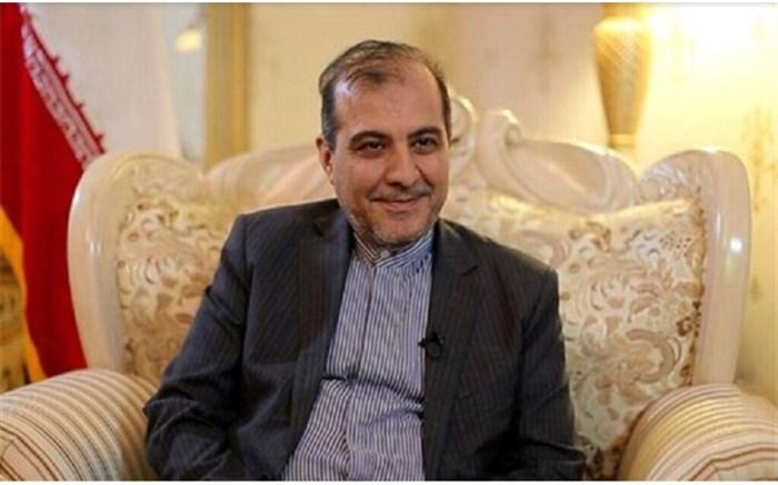 دیدار علی اصغر خاجی با وزیر مشاور در امور خارجی قطر