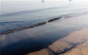 پاکسازی دو لکه نفتی در خلیج فارس