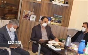 جلسه هم اندیشی نحوه برگزاری مانور زلزله  با حضورمدیر کل بحران استانداری استان اصفهان