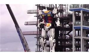 ربات ۱۸ متری ژاپنیها راه رفت!