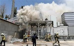 جزییات آتش سوزی نیروگاه طرشت اعلام شد