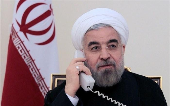 روحانی به محمداف: ایران آماده همکاری با ترکمنستان برای مقابله با کروناست