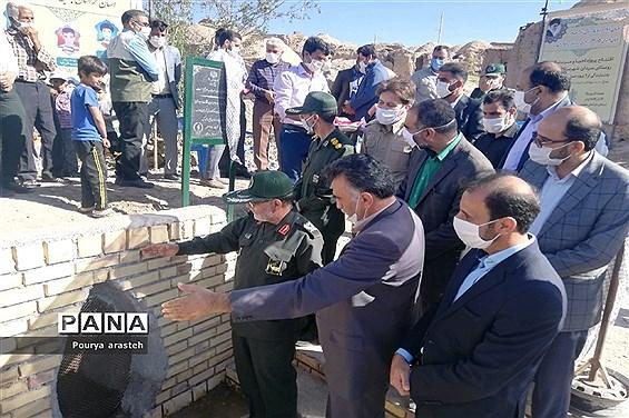افتتاح قنات سیدان بخش ماژان شهرستان  خوسف