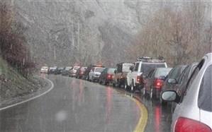 ترافیک سنگین در محور چالوس؛ کدام مسیرها مسدود است؟