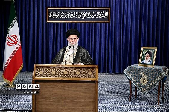 سخنرانی تلویزیونی  رهبر انقلاب اسلامی  به مناسبت عید قربان