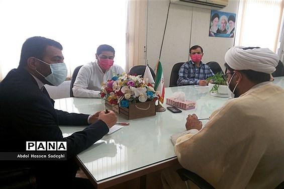 جلسه ستاد امر به معروف و نهی از منکر در آموزش و پرورش استان بوشهر