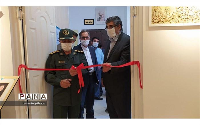 افتتاحیه نمایشگاه لبخند رنگ ها در بیرجند استان خراسان جنوبی