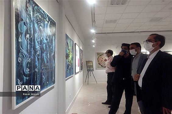 مراسم افتتاح نمایشگاه لبخند رنگ ها
