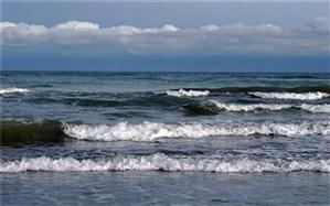 دریای مازندران مواج میشود