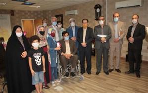 حضور سارای عصرجدید در دفتر مدیرکل آموزش وپرورش فارس