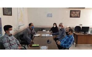 برگزاری اولین جلسه کارگروه اداری تولید محتوا در کارشناسی گروههای آموزشی شهرستان امیدیه