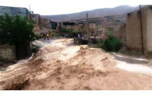 درگز 198 میلیارد ریال از بارش های تابستانی خسارت دیده است