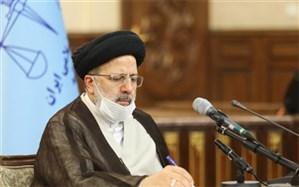 بازدید رئیس قوه قضاییه از یکی از مراکز فرهنگی و جهادی