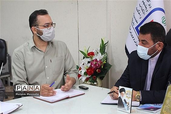 جلسه هماهنگی و برنامهریزی بسیج دانشآموزی استان بوشهر