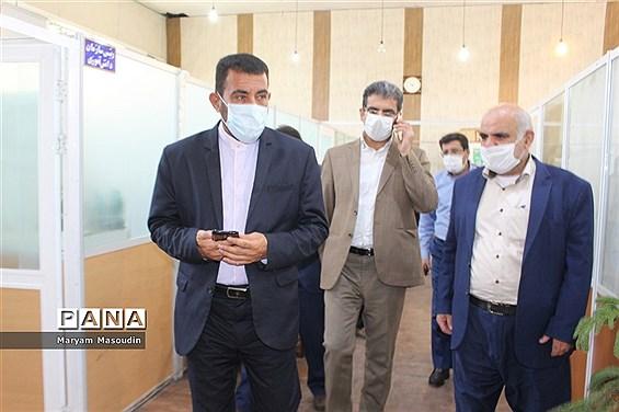 بازدید معاون پرورشی استان بوشهر از سازمان دانش آموزی  و خبرگزاری پانا  استان