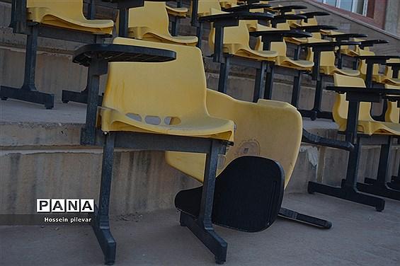 مشکلات  استادیوم ۱۵۰۰۰ هزار نفری غدیر در بیرجند استان خراسان جنوبی