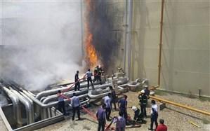 خسارت ۳۰ میلیونی آتش به نیروگاه سمنان