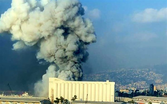 انفجار لبنان
