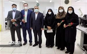 بازدید معاون وزیر آموزش و پرورش از خبرگزاری پانا در آستانه عید غدیر و روز خبرنگار