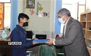 تجلیل از خبرنگاران پانا در کرمان