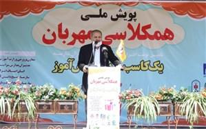 علیرضا کاظمی : ترویج فرهنگ احسان و نیکوکاری در سطح جامعه و بالاخص  در میان دانش آموزان عمل تربیتی است