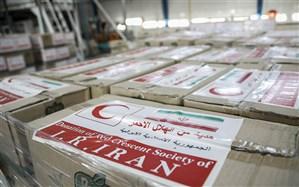 نخستین محموله غذایی و بهداشتی جمعیت هلالاحمر ایران به بیروت رسید