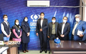 بازدید مدیرکل آموزش و پرورش فارس از خبرگزاری پانا