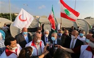 بیمارستان صحرایی هلال احمر ایران در بیروت احداث شد