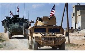 یک کاروان بزرگ نظامی آمریکا از عراق وارد سوریه شد