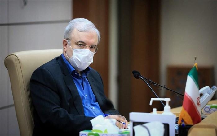 گلایه های سعید نمکی وزیر بهداشت