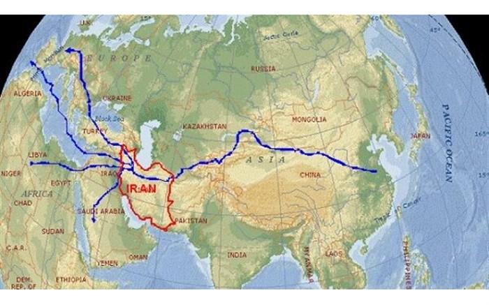 ایران، حلقه اتصال طرح «یک کمربند- یک جاده»