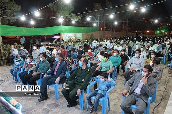 گردهمایی بزرگ شب عید غدیر خم در شهرستان خوسف استان خراسان جنوبی