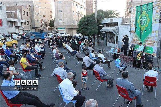 برگزاری مراسم عید غدیر در محلات تبریز