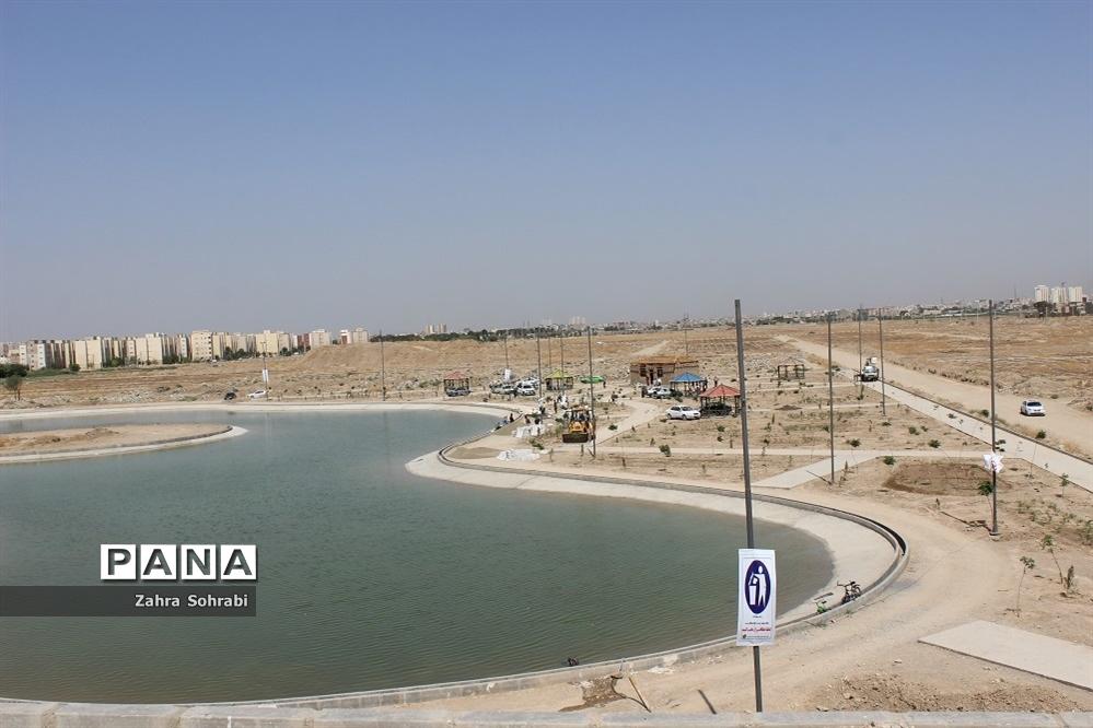 اجرای پروژه پارک شش و نیم هکتاری شهرستان اسلامشهر