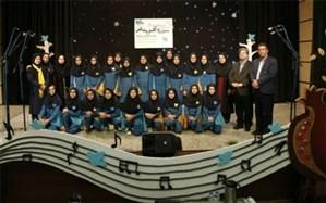 افتخارآفرینی جمعی از دانش آموزان دبیرستان فرزانگان  شهدای اردکان