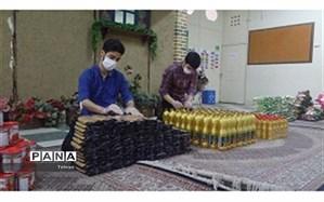 مرحله پنجم رزمایش همدلی، کمک مومنانه در عید سعید غدیر خم در منطقه17