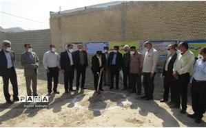 آغاز عملیات اجرایی احداث دبستان چهار کلاسه خیرساز در روستای بغدک رامهرمز