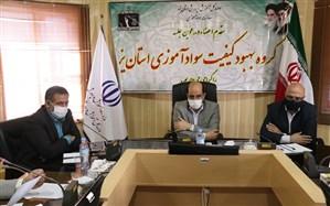 نشست کارگروه بهبودسواد آموزی استان یزد