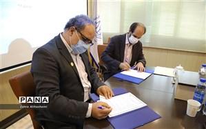 عقد تفاهم همکاری میان سازمان دانش آموزی شهر تهران و اتحادیه پوشاک تهران