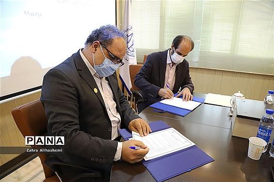 عقد تفاهم همکاری میان سازمان دانشآموزی شهر تهران و اتحادیه پوشاک تهران