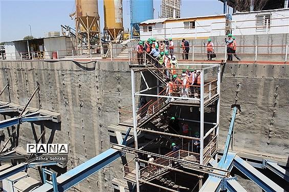 بازدید نمایندگان مجلس شورای اسلامی از پروژه مترو و شهر ک های صنعتی اسلامشهر