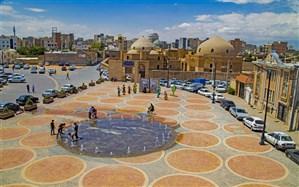 بازگشایی سایت شهیدگاه در بافت تاریخی اردبیل
