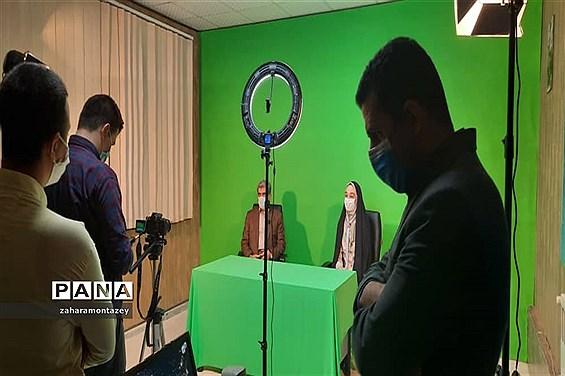 بازدید مدیرکل آموزش و پرورش از دفتر خبرگزاری پانا سازمان دانشآموزی البرز