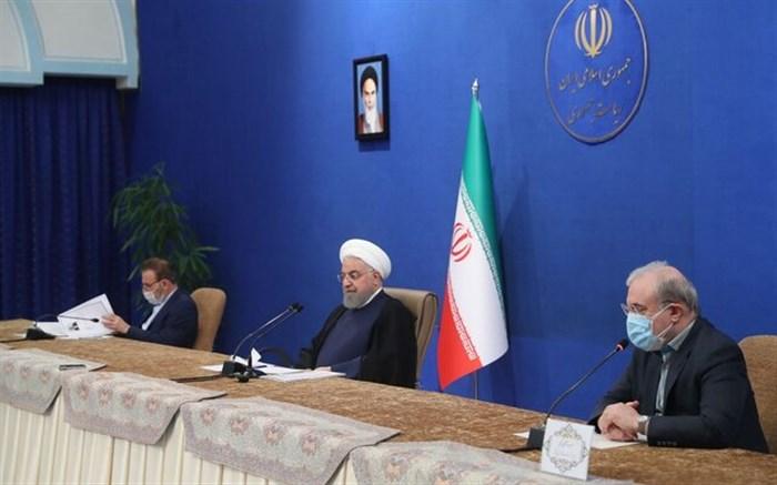 نشست روحانی با مدیران تولید کننده دارو و واکسن کشور
