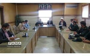 فرمانده سپاه تربت حیدریه با مدیر آموزش و پرورش شهرستان دیدار کرد
