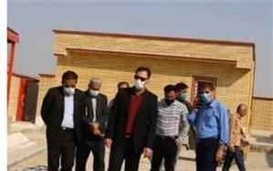 افتتاح مدرسه تنگسیر عالی حسینی در هفته دولت