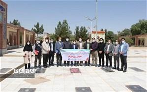 تجدید میثاق اصحاب رسانه شیروان با خبرنگار شهید محمد رضا امانی