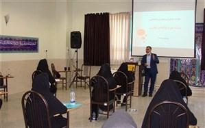 برگزاری جلسه مدیران مدارس شهرستان مبارکه با موضوع پروژه مهر